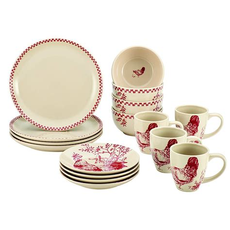 Rooster Dinnerware Shop   Everything Log Homes