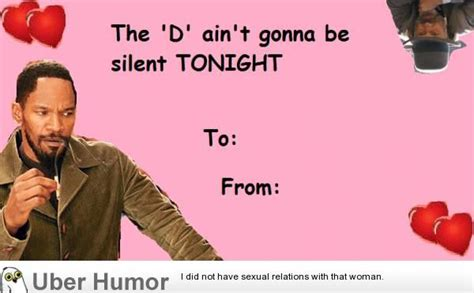 Dirty Valentines Day Memes - d jango valentine card funny pictures quotes pics