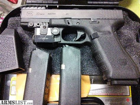 glock 22 laser light armslist for sale glock 22 4 nib veridian laser light