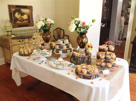 A Rustic Baby Shower for Tucker!   In this Wonderful Life