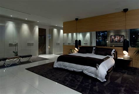luxury modern bedroom interior design of haynes house by steve hermann los angeles california