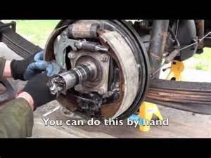 Isuzu Truck Wheel Bearing Adjustment How To Remove A Toyota 4x4 Birfield Joint An Inner