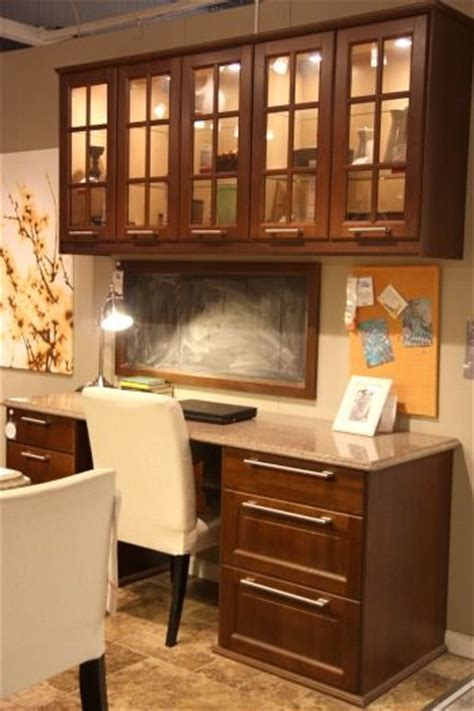 ikea kitchen cabinets in office 1025 best images about most beautiful home offices on