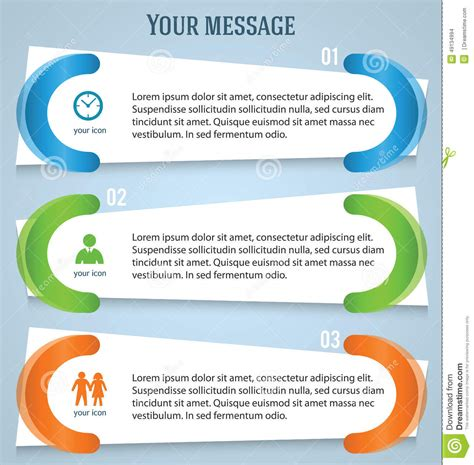 process management template powerpoint poster presentation templates green