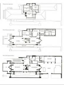 Frank Lloyd Wright Plans Frank Lloyd Wright S Robie House Floor Show Pinterest