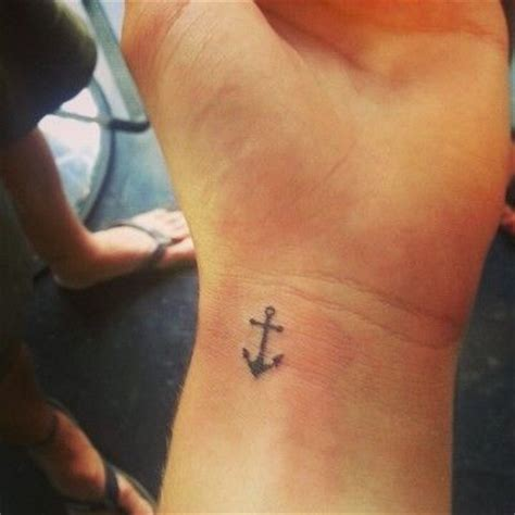small anchor tattoos for women mini anchor on wrist anchor