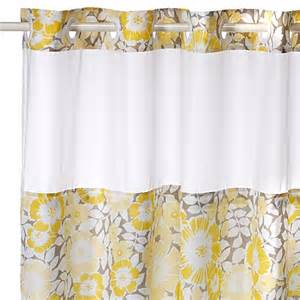 Floral Shower Curtains Fan Floral Hookless Shower Curtain Www Bedbathandbeyond
