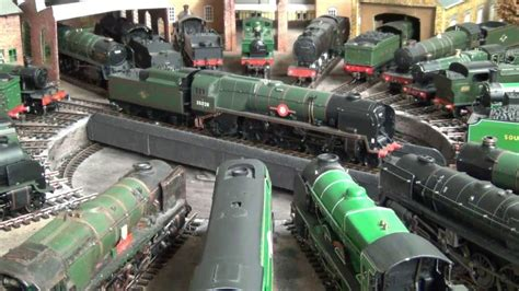 oo layout youtube british oo gauge layout great western and southern