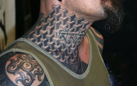cool neck tattoos 33 cool neck gangster tattoos