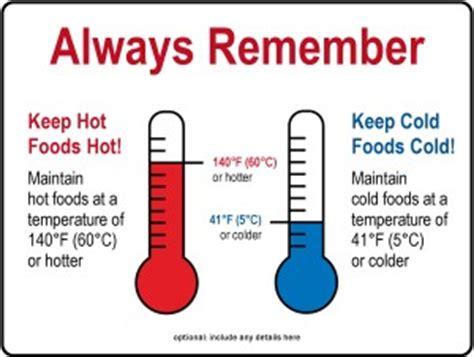 kitchen holding temperature sign restaurant management tools