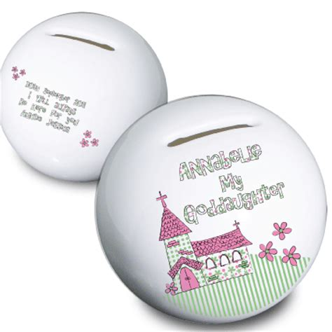personalised first communion money box gift for