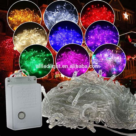 wholesale 10m 100leds christmas light decoration 110v