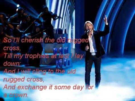 the voice boyd rugged cross craig wayne boyd the rugged cross the voice 7 lyrics