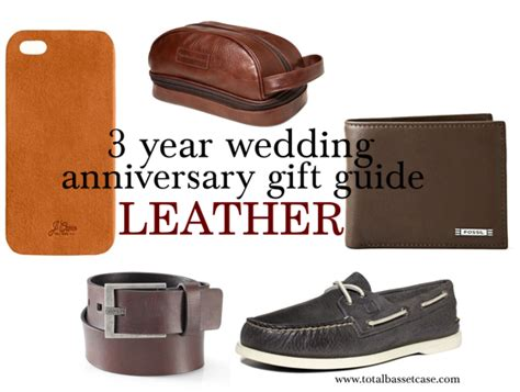 3 year wedding anniversary gift guide anniversary gift guide leather gifts