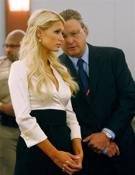 Hiltons Lawyer Goofs Up by David Chesnoff Pictures Court Appearance At