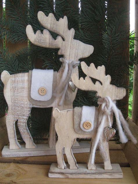 Weihnachtliche Holzdeko Selber Machen by Die Besten 25 Holzdeko Weihnachten Ideen Auf