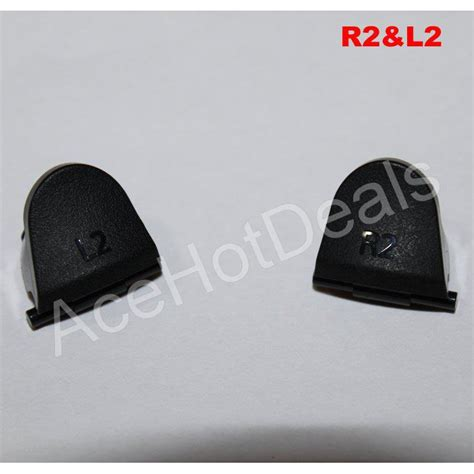 Ps4 Earths R2 Region 2 Playstation 4 black l2 r2 trigger replacement parts buttons for