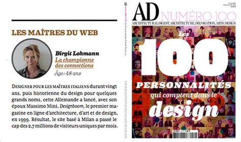 designboom advertising designboom among ad top 100 personalities