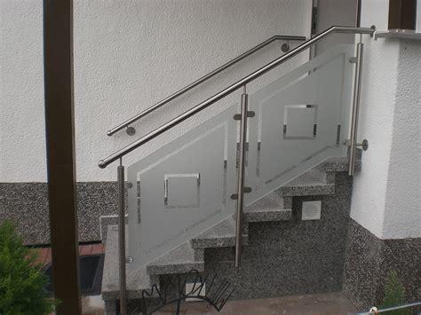 Treppengeländer Edelstahl Glas by Metallbau Rabe Gmbh Schmiedebetrieb In Ringgau R 246 Hrda