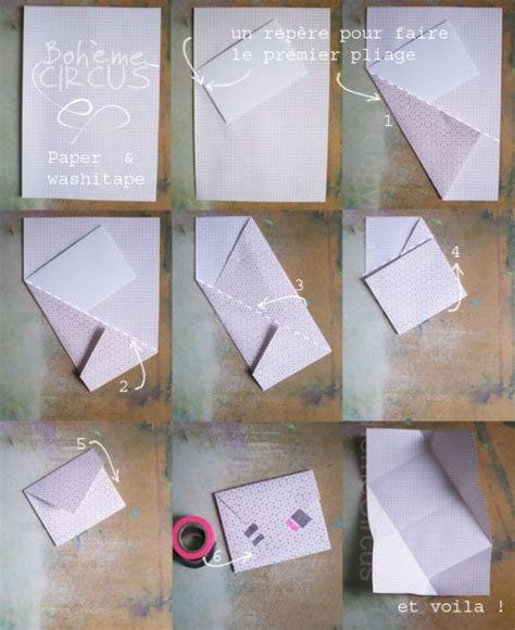 How To Fold An Envelope Out Of Paper - 52 weeks of mail briefs pictures and poster