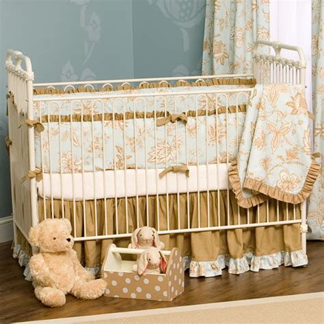 Vintage Baby Crib by Vintage Iron Crib And Nursery Necessities In Interior