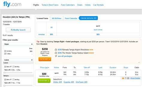 Tpa Search 81 89 Houston To Ta Orlando Nonstop R T Fly Travel