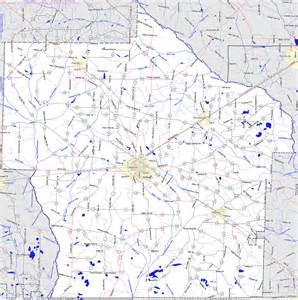 terrell county map bridgehunter terrell county