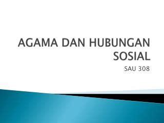 Agama Dan Konflik Sosial ppt agama dan perubahan sosial powerpoint presentation id 6210545
