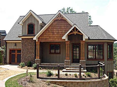 mountain vacation home plans vaulted spaces abound 92310mx cottage craftsman