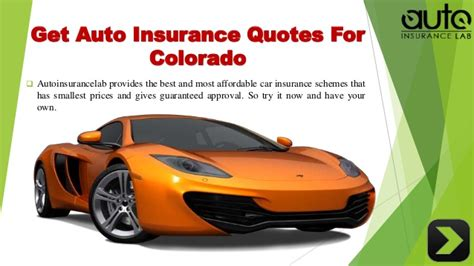 Best Auto Insurance Rates by Acquire The Best Auto Insurance Colorado Quotes With Low Rates