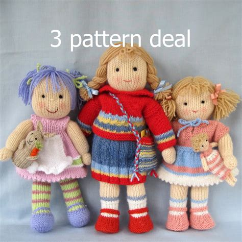 pattern knitting doll dollytime dolls knitted doll patterns amigurumi y