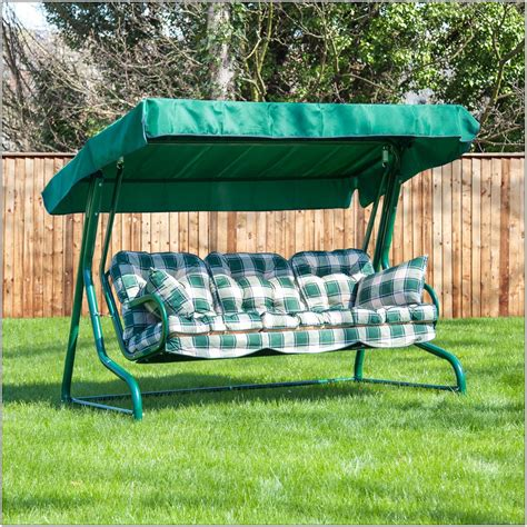 swing seat cushions 3 seater swing seat cushions chairs home decorating