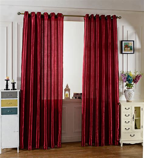 curtains for window against wall 100 x 250cm pure color grommet ring top blackout window