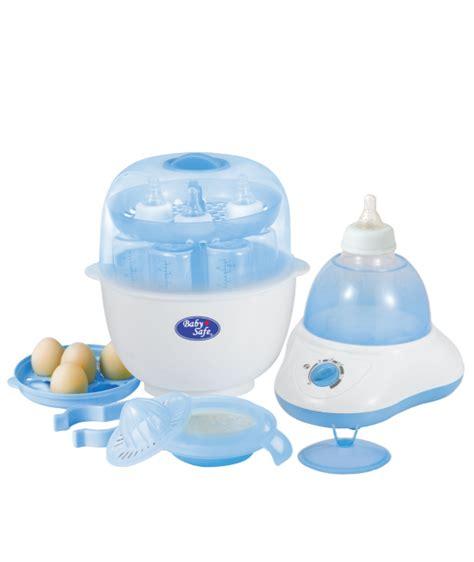 Jual Perlengkapan Bayi Baby Safe 6 Bottles Express Sterilizer sterilizer baby safe