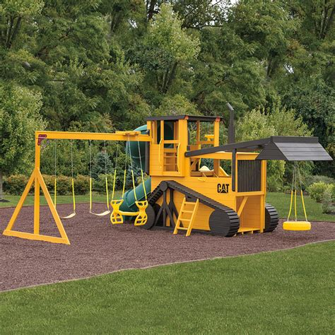 amish swing sets bulldozer amish swing set solid wood amish playsets