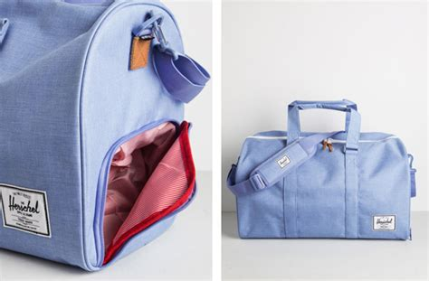 weekender bag with shoe compartment wednesday wishlist dresses coats bags cool gifting