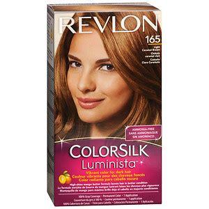 revlon light caramel brown revlon colorsilk luminista vibrant color for dark hair