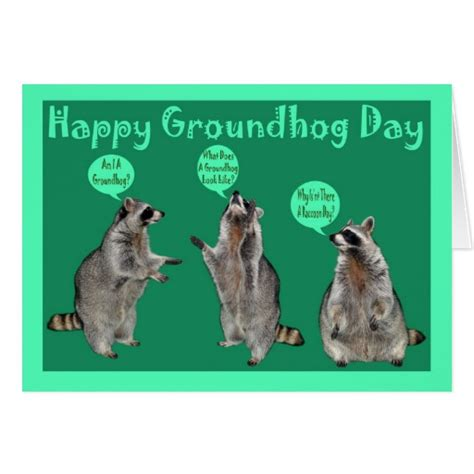 groundhog day cards groundhog day greeting card zazzle