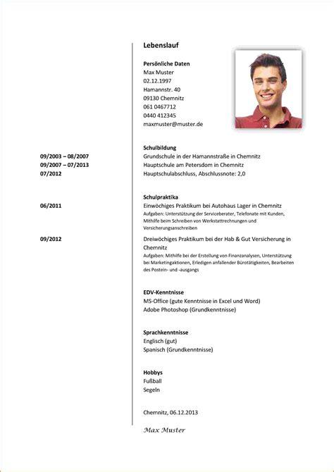 Lebenslauf Vorlage Praktikum Schüler lebenslauf f 252 r praktikum transition plan templates