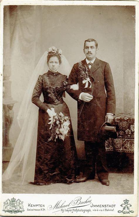 Brautkleider Um 1900 by Hochzeitsfoto Um 1900 Klassisch Zu Dieser Zeit Das