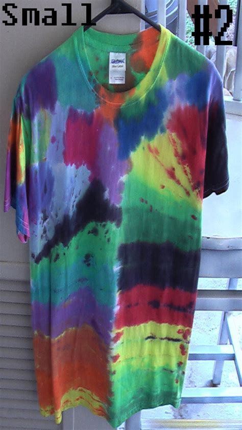 5 different styles to choose from tie dye by ill styles