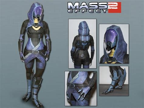 Mass Effect Papercraft - mass effect 2 papercraft tali zorah