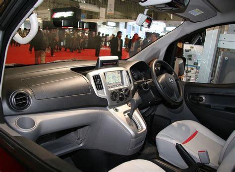 nissan vanette modified interior file nissan nv200 vanette taxi interior jpg wikimedia