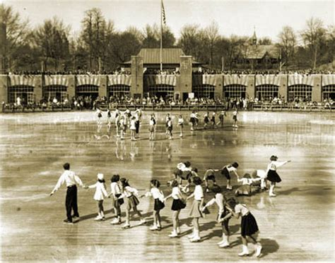 vintage photos: the history of ice skating in nyc