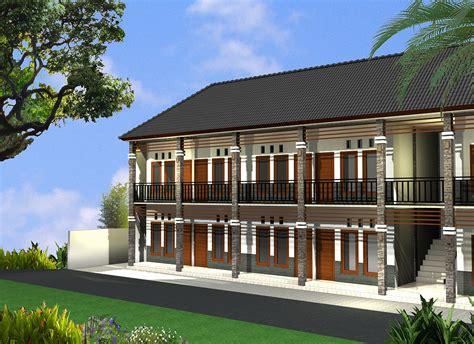 layout desain rumah kost investasi tanah contoh desain rumah kos kosan