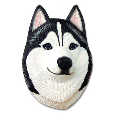 Best Seller Hamster Roborovski White Husky husky plaque figurine black white