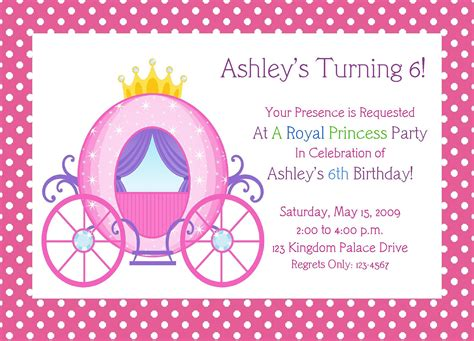 7 Best Images Of Free Printable Princess Birthday Invitations Princess Birthday Party Princess Birthday Invitation Templates Free