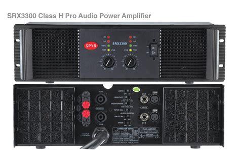 Power Lifier Audio Seven spyn pro audio power lifier srx3300