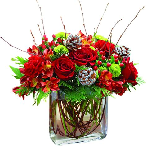images of christmas flower arrangements christmas flower arrangements casual cottage