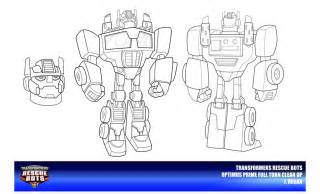 rescue bot coloring pages rescue bots optimus prime clean up by thegreatjery on